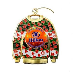 Express Vibraprint� Ugly Sweater Holiday Ornament