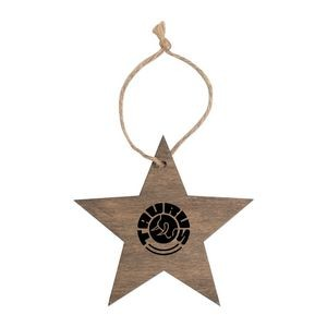 Star Wooden Ornaments
