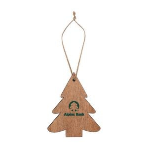 Tree Wooden Ornaments